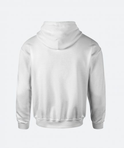 Spoontech hoodie white back